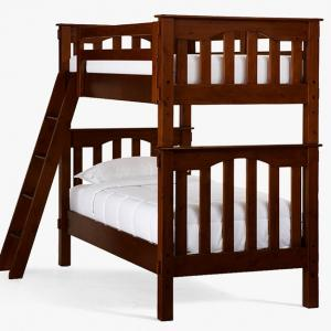 Photo of POTTERY BARN KIDS Convertible Bunk Bed Set/2 Twin Beds (Used)