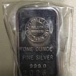 Item (11)  1oz Silver Bar