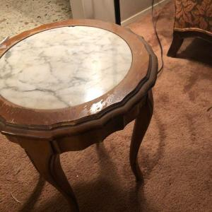Photo of Marble Table