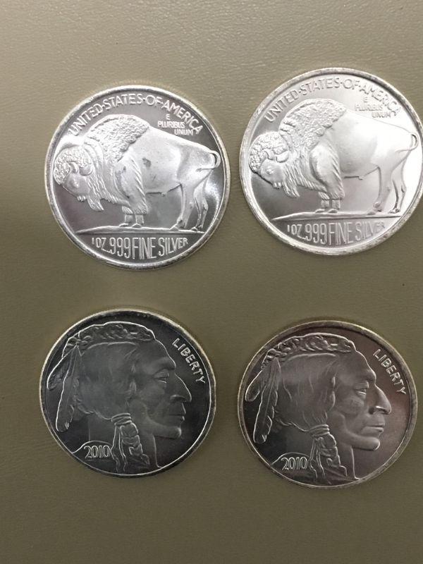 Photo 1 of Item (20) 1 oz. Buffalo Plugs