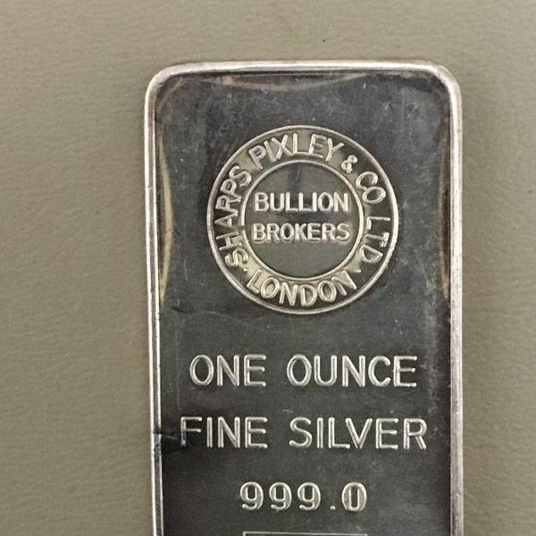 Photo of Item (8) 1 oz. Silver Bar
