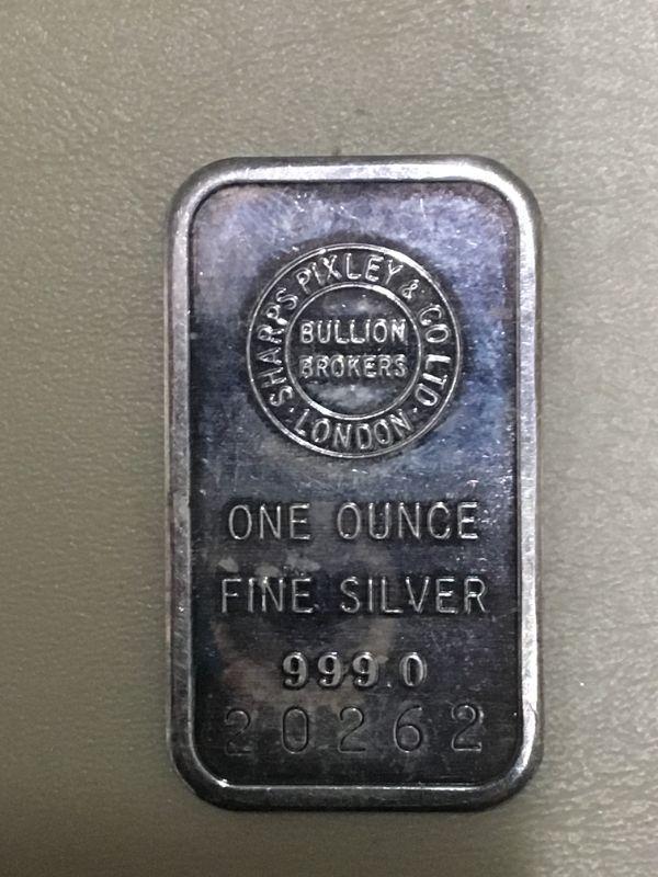Photo 1 of Item (6) 1 oz. Silver Bar