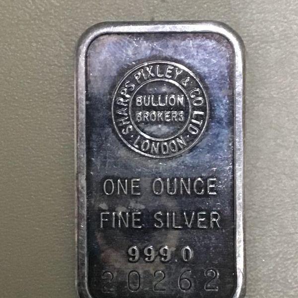 Photo of Item (6) 1 oz. Silver Bar