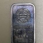 Item (6) 1 oz. Silver Bar