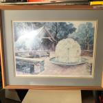 Framed Print of Park