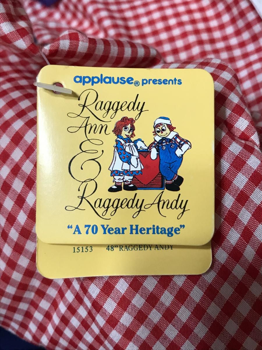 Photo 5 of Raggedy Ann and Raggedy Andy