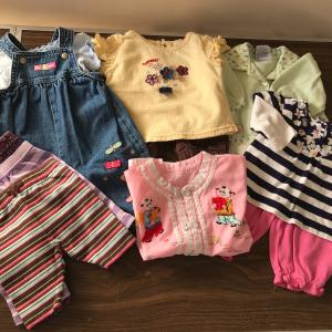 Photo of Baby Girl Clothes and Child Toilet Seat