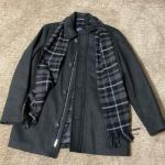 Docker Men's coat with scarf