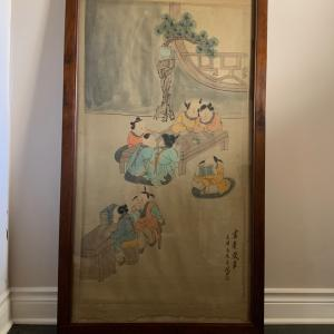 Photo of Chinese water color painting