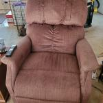 Electric lift recliner sleeper