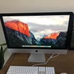 iMac 27 in monitor