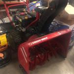 28 inch Troy-Bilt Snow Blower available