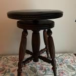 Beautiful Antique Piano Stool - Ball & Claw Feet