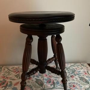 Photo of Beautiful Antique Piano Stool - Ball & Claw Feet