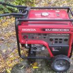 Generator  almost new