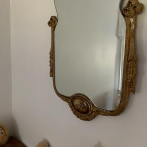 Photo of Baroque mirror