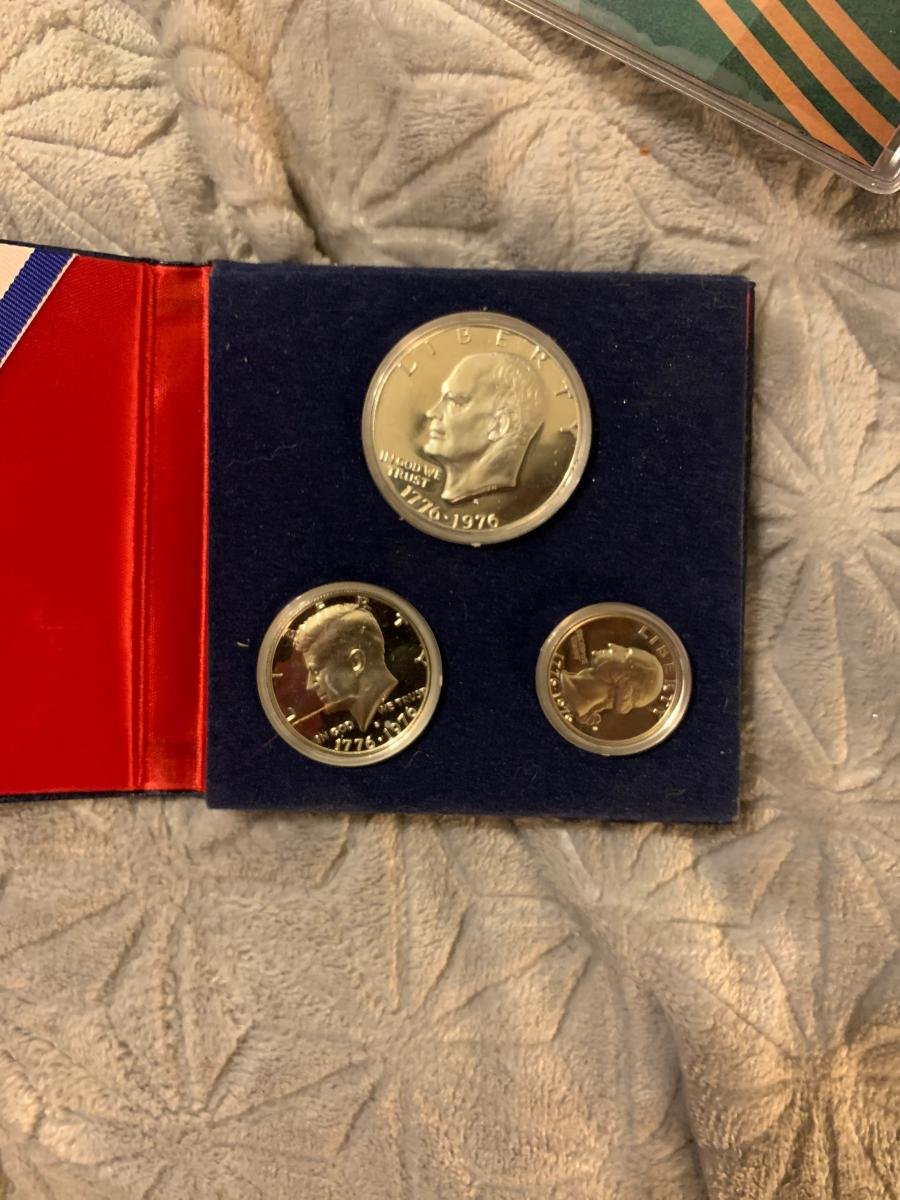 Photo 1 of United States Bicentennial Silver Proof Set