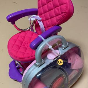 Photo of Doll Salon Chair and Accessories