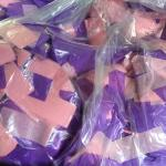 Confetti - Pink and Purple - Two Cases
