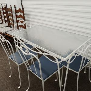 Photo of Iron Patio Set