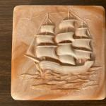 INCOLAY Nautical clipper ship - trinket/jewelry box--Great for your favorite man
