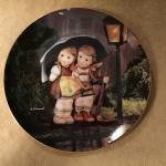 Hummel Little Companions - Stormy Weather Plate