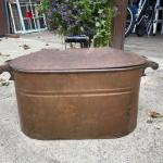 Antique Copper Washtub