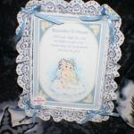 Dreamsicles Musical Remember To Dream Plaque with Lace Edge