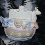 Porcelain Musical Noah's Ark