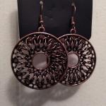 Malibu Musical Copper Earrings