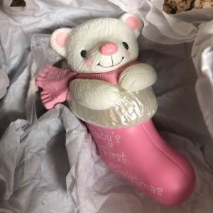 Photo of Hallmark Keepsake 2017 Baby Girls First Christmas