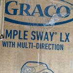New Grayco simple sway XL swing. Fashion with Teddy  bears.