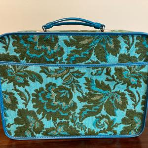 Photo of Vintage  70's  AVON  sales rep suitcase/overnight bag