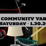 PAL COMMUNITY YARD SALE