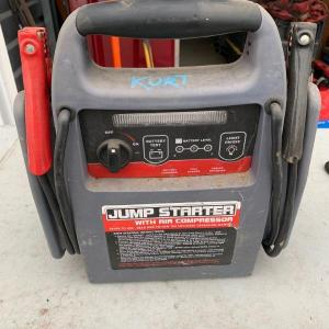 Photo of Jump starter with air compressor