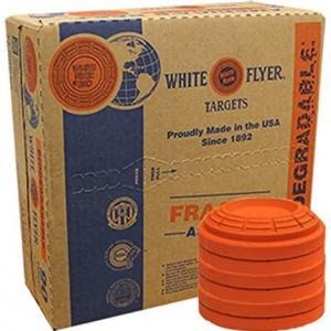 Photo of  White Flyer Bio Targets Orange Skeet Shooting Target Case(90) -$50/Best Offer