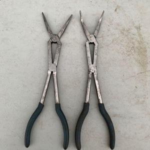 """Photo of 2 pair of 14"""" long reach needle nose pliers"""