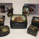 Enameled Russian Boxes