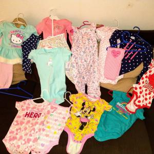 Photo of NEW Baby Girl outfits (18-24 mos)