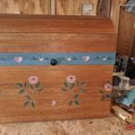 Girl's toy chest or trunk