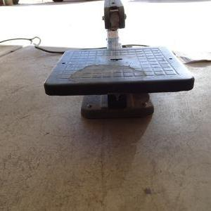 "Photo of 15"" Power jig Saw Montgomery Ward Power Kraft"