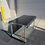 Glass Table Top Desk