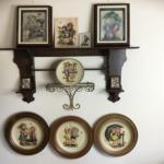 A-428 Lot Of Vintage Hummel Wall Hangings