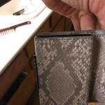 Snake Skin Men's Wallet