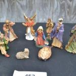 LOT 452 NATIVITY SCENE