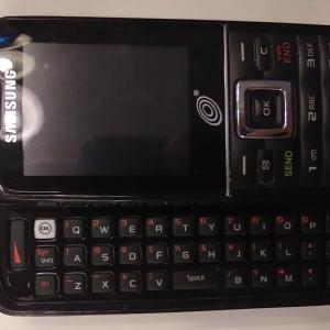 Photo of Samsung Slide Model Phone