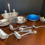J430 Lot of Misc Silverplate