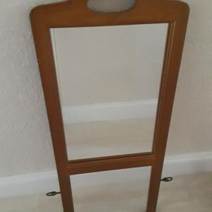 Photo of ANTIQUE MIRROR WOOD FRAME only $65