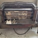 Lot #113  Vintage Gas Heater