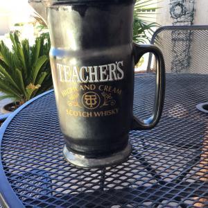 Photo of Teacher Scotch Whiskey pitcher